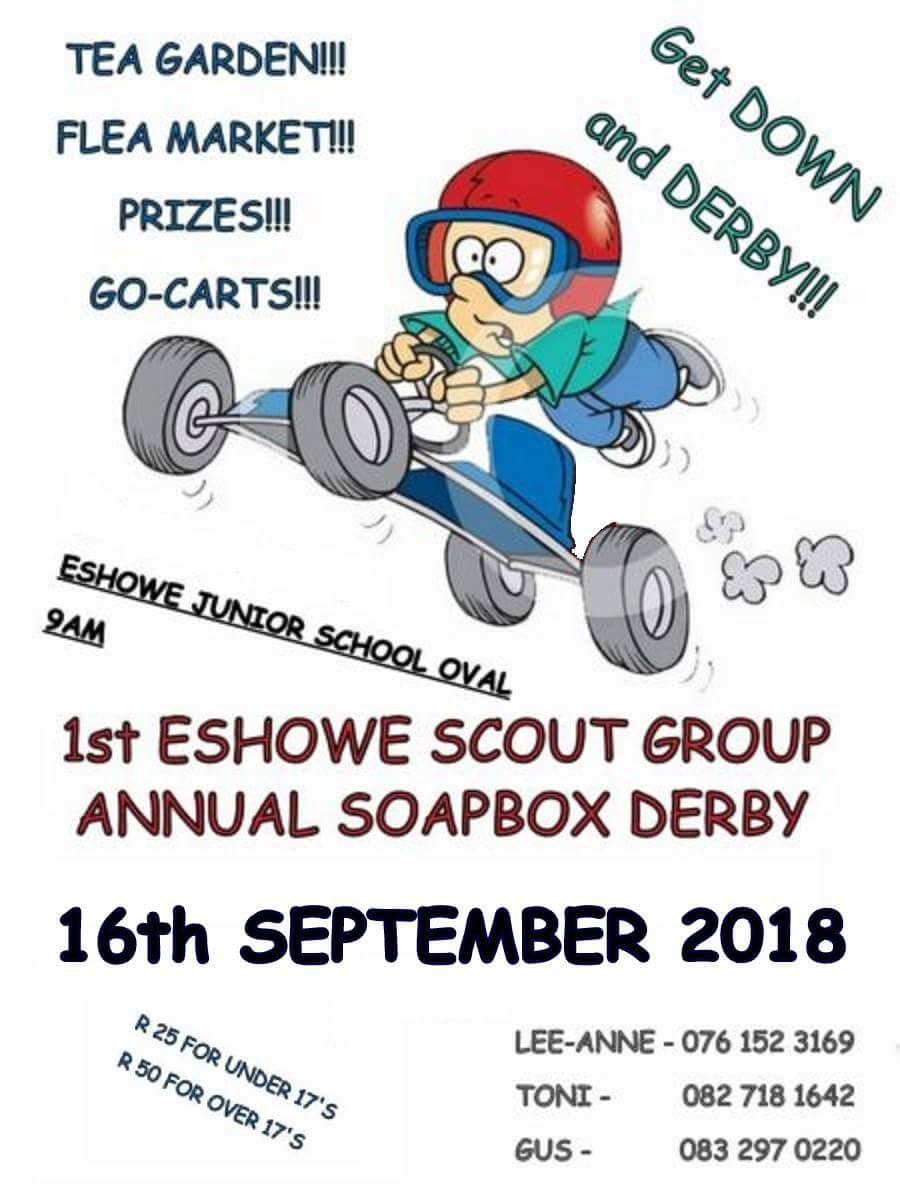 1st Eshowe Scouts Soapbox Derby and Medieval Dinner