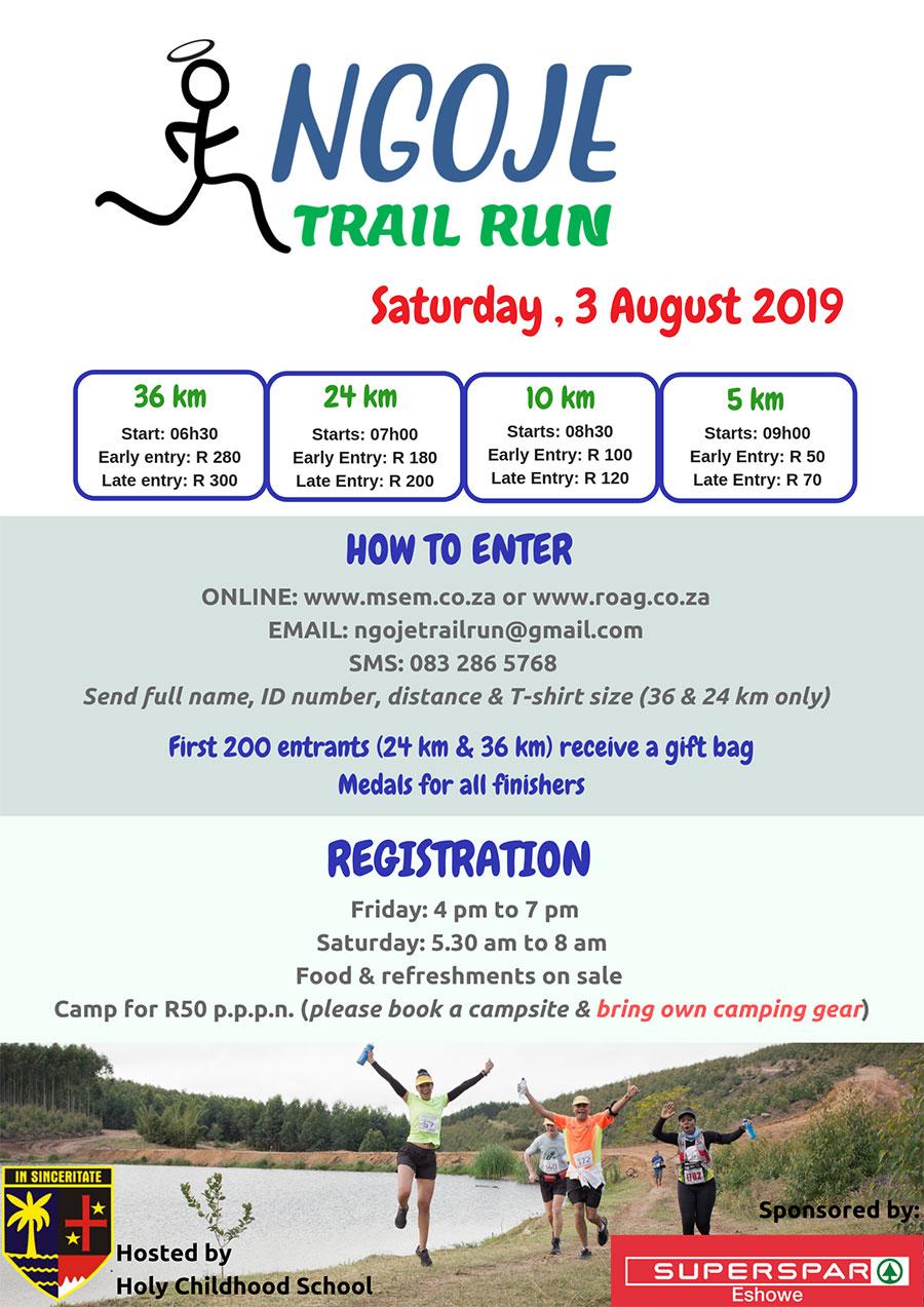 Eshowe SUPERSPAR Ngoje Trail Run
