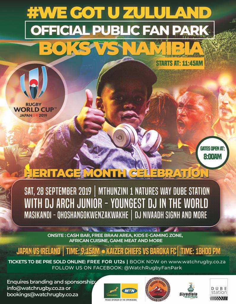 Boks vs Namibia