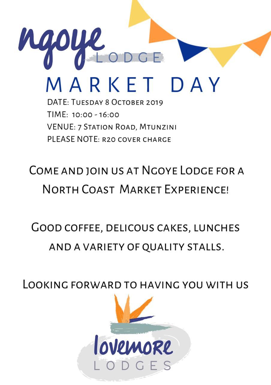 Ngoye Lodge Market Day