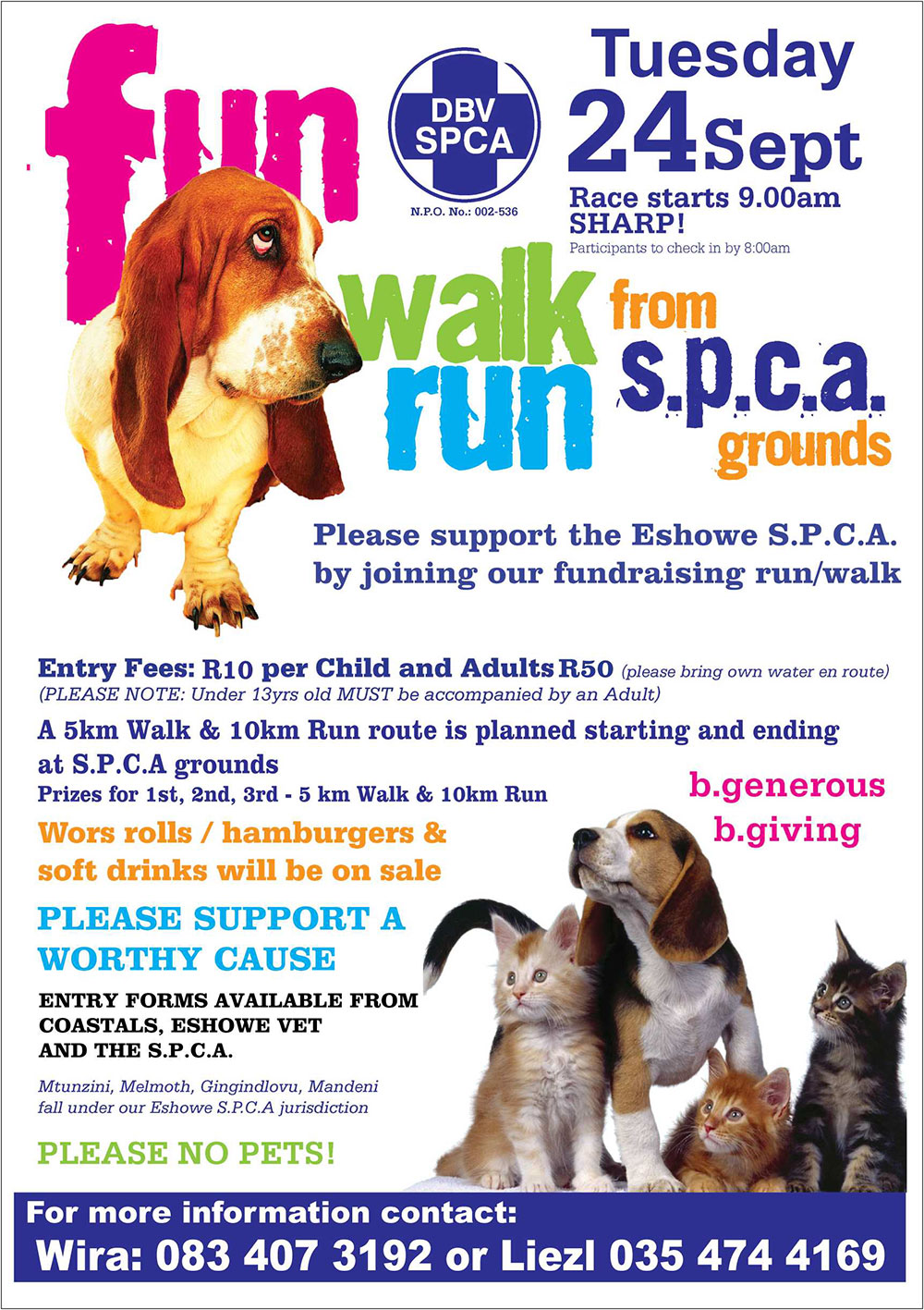 SPCA Fun Walk/Run