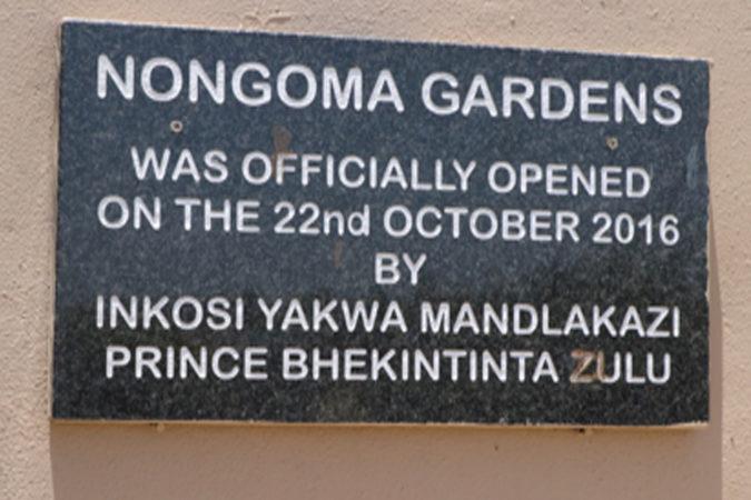 Nongoma Gardens